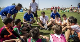 FIFA president & FIFA Legends help kick off 2nd Football for Schools pilot project in Lebanon!