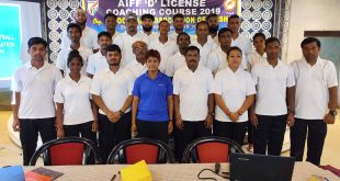 Latest AIFF D License Coaching Course kicked-off in Cuttack!