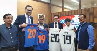 India's AIFF sign MoU with German FA (DFB)!