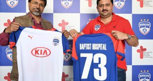 Bengaluru FC join hands with Baptist Hospital!