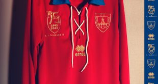 75th anniversary of CD Numancia de Soria is celebrated with a new kit from Errea!