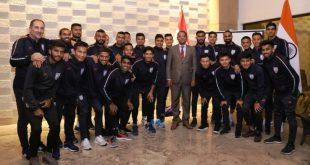 VIDEO: India's ambassador to Tajikistan hosts Blue Tigers!