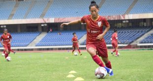 India Women's Football wishes Bala Devi all the best for Glasgow Rangers trials!