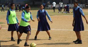 Jamshedpur FC's Children's Day surprise for the kids of Carmel Bal Vihar!