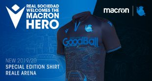 Macron & Real Sociedad celebrate the Anoeta Stadium with a 'special edition' kit!