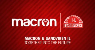 Macron is the new technical sponsors of Sandviken IL!