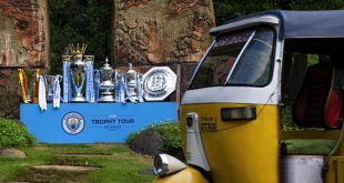 Manchester City brings six trophies to India as part of global trophy tour!