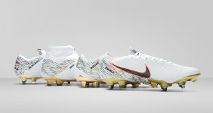 Nike-made USWNT Victory Boots after a Victory Tour!