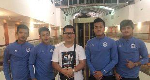 Four Odisha FC youngsters training at Qatar's Aspire Academy!