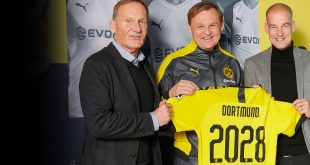 PUMA and Borussia Dortmund extend partnership until 2028!