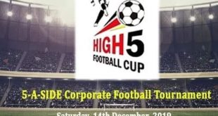 High 5 Football Cup to be held in Kolkata on Saturday!