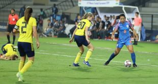 Sweden down India in U-17 Women's Football Tournament opener in Mumbai!