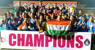India U-17 Girls land in Mumbai for U-17 Women's Football Tournament!