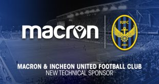 Macron announce partnership with Incheon United FC!