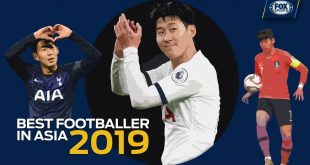 Heung-min Son wins 2019 Best Footballer in Asia!