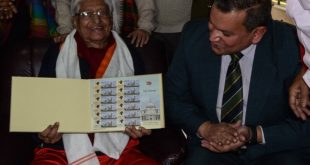 Indian Postal Department honours Chuni Goswami with commemorative stamp!