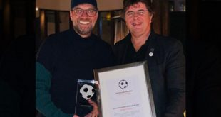 German Football Ambassador hand Jürgen Klopp his 2019 award!