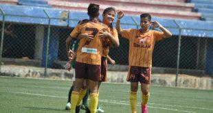 Gokulam Kerala FC run riot in IWL against Kenkre FC!