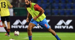 Recuperating from ACL injury, Sandesh Jhingan works away on his first book!