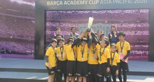 Delhi Grana wins the U-15 Barca Academy Cup – Asia Pacific!