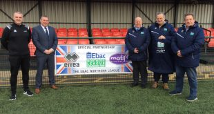 Errea Sport partners with Ebac Northern League!