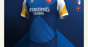 Errea Sports launch fund-raising campaign with four Lega Pro team from Calabria!