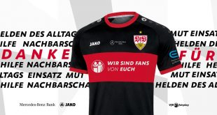 We are fans of you! VfB Stuttgart & JAKO say thank you with a special jersey!