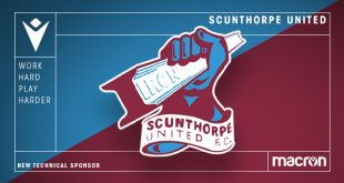 Macron is the new Technical Sponsor of Scunthorpe United FC!