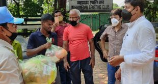 Mohammedan Sporting comes forward to help the groundsmen of Kolkata Maidan!