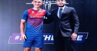 Sunil Chhetri named brand ambassador of Twelfth Man fantasy football!