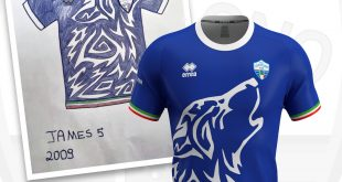 "Errea presents the winning jersey of ""Design the shirt of RC Codogno 1908""!"