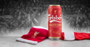 Carlsberg shares a beer with worldwide Liverpool FC fans with limited edition EPL champions cans!