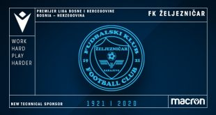 Macron is the new technical sponsor of FK Zeljeznicar!