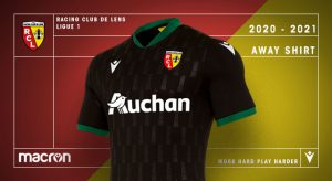 Macron Rc Lens Unveil New 2020 21 Away Kit