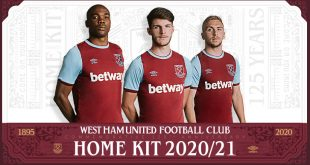 West Ham United reveal Commemorative 125th Anniversary UMBRO Home kit!