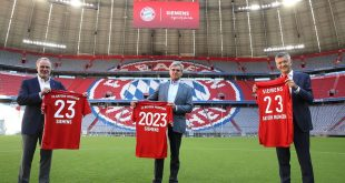 Bayern Munich & Siemens extend partnership until 2023!