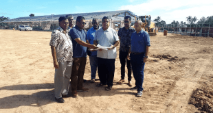 Fiji's new Football Academy in Labasa on track!
