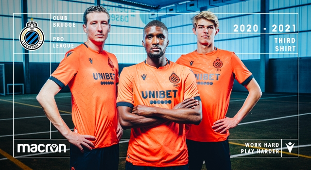 Macron Unveil Club Brugge Third Kit For The 2020 21 Season
