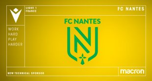 Macron is the new Technical Sponsors of FC Nantes!