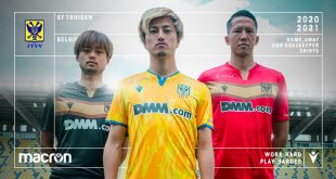 Macron & Sint-Truiden reveal new 2020/21 season kits!