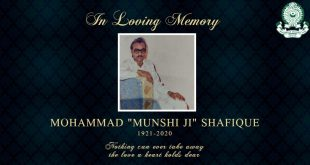 Mohammedan Sporting remembers late Munshi Ji!