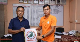 NEROCA sign youngster Yengkhom Bishan Meitei!