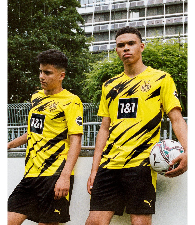 Puma Presents Borussia Dortmund 2020 Home Kit Inspired By U Bahnhof Westhallenhallen