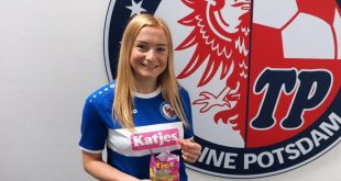Turbine Potsdam unveil Katjes as new shirt sponsor!