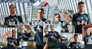UMBRO & Werder Bremen launched special Bremen 'City' kit!