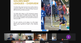 AIFF organises webinar with Golden Baby Leagues operators!