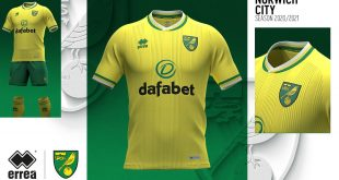 Errea & Norwich City FC unveil new home kit for 2020/21 season!