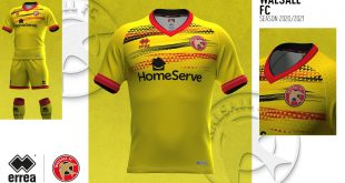 Errea & Walsall FC launch the Saddler's 2020/21 third kit!