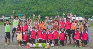 Training Kuki Tribe kids, India's Len Doungel finds rich hearts!