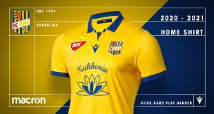 Macron & FC DAC 1904 introduce the new home kit!